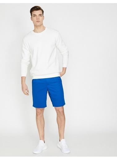 Koton Şort Mavi